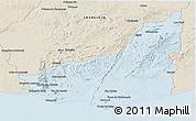 Classic Style Panoramic Map of MALDONADO