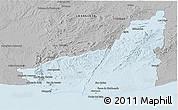 Gray Panoramic Map of MALDONADO