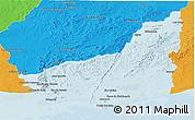 Political Panoramic Map of MALDONADO