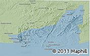 Savanna Style Panoramic Map of MALDONADO