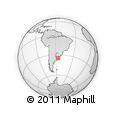 Outline Map of MONTEVIDEO