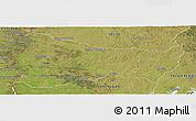 Satellite Panoramic Map of PAYSANDU