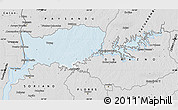 Silver Style Map of RIO NEGRO