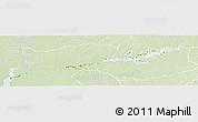 Physical Panoramic Map of Rio Negro, lighten