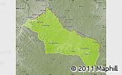 Physical Map of RIVERA, semi-desaturated
