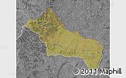 Satellite Map of RIVERA, desaturated
