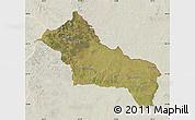 Satellite Map of RIVERA, lighten