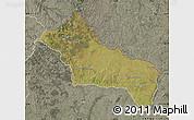 Satellite Map of RIVERA, semi-desaturated