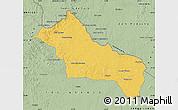 Savanna Style Map of RIVERA