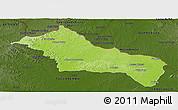 Physical Panoramic Map of RIVERA, darken