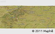 Satellite Panoramic Map of RIVERA