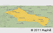Savanna Style Panoramic Map of RIVERA