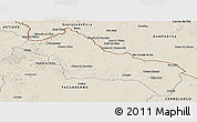 Shaded Relief Panoramic Map of RIVERA