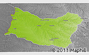 Physical 3D Map of SALTO, desaturated