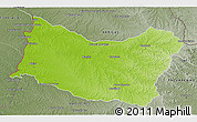 Physical 3D Map of SALTO, semi-desaturated