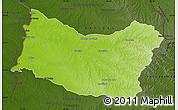 Physical Map of SALTO, darken