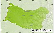 Physical Map of SALTO, lighten