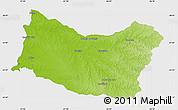 Physical Map of SALTO, single color outside