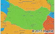 Political Map of SALTO