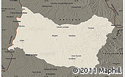 Shaded Relief Map of SALTO, darken