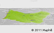 Physical Panoramic Map of SALTO, lighten, desaturated