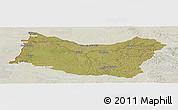 Satellite Panoramic Map of SALTO, lighten