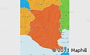 Political Map of SAN JOSE