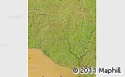 Satellite Map of SAN JOSE