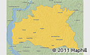 Savanna Style 3D Map of SORIANO