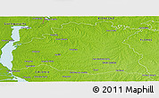 Physical Panoramic Map of SORIANO
