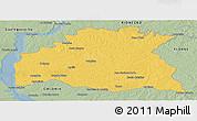 Savanna Style Panoramic Map of SORIANO