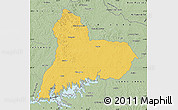 Savanna Style Map of TACUAREMBO