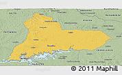 Savanna Style Panoramic Map of TACUAREMBO