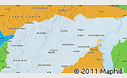Political Map of TREINTA Y TRES
