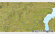 Satellite Map of TREINTA Y TRES