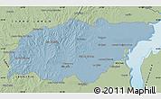 Savanna Style Map of TREINTA Y TRES