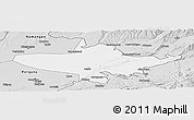 Silver Style Panoramic Map of Andizhan