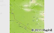 Physical Map of Bukhara