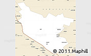 Classic Style Simple Map of Bukhara