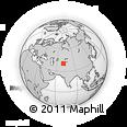 Outline Map of Fergana