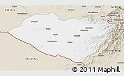 Classic Style 3D Map of Kashkadarya
