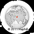 Outline Map of Namangan