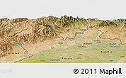 Satellite Panoramic Map of Namangan