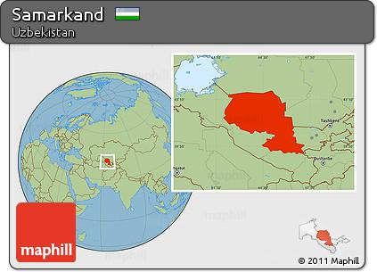 Free Savanna Style Location Map of Samarkand on damascus map, odessa map, baghdad map, timbuktu map, medina map, kashgar map, indus river map, herat map, singapore map, merv map, tashkent map, central asia map, karakorum map, silk road map, almaty map, oxus river map, urumqi map, uzbekistan map, seville map, rome map,
