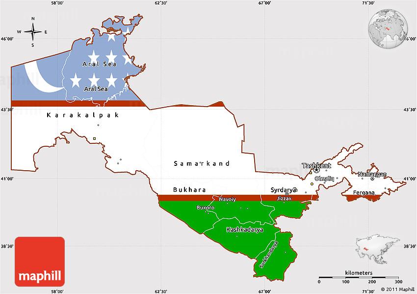 Uzbekistan By Annalisa Karacay P ThingLink - Uzbekistan interactive map