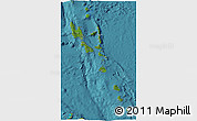Satellite 3D Map of Vanuatu, physical outside, satellite sea