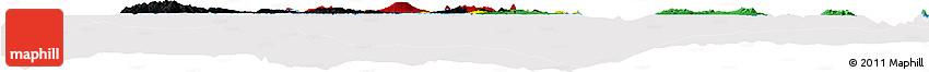 Flag Horizon Map of Vanuatu