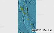 Satellite Map of Vanuatu, physical outside, satellite sea