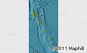 Satellite Map of Vanuatu, political outside, satellite sea