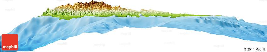 Physical Horizon Map of Sanma